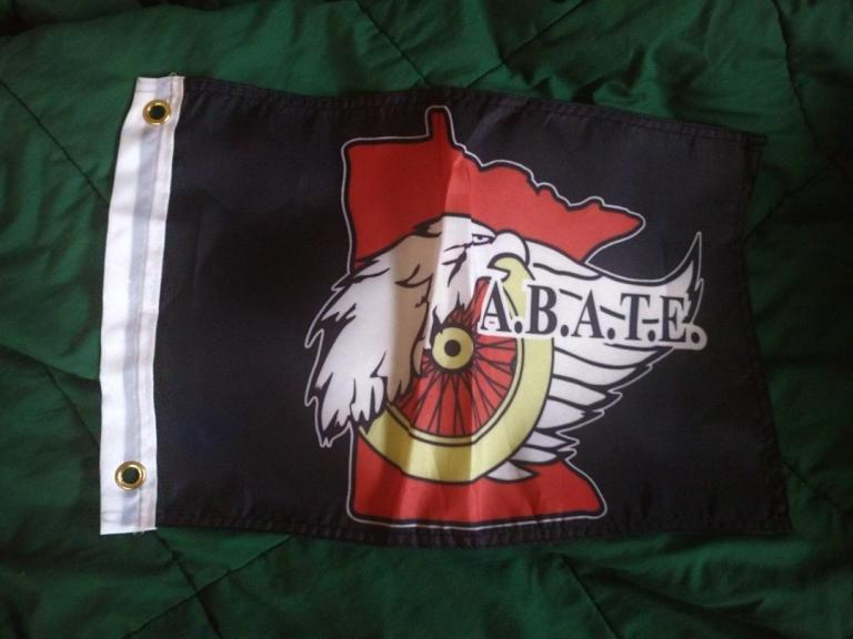ABATE bike flags